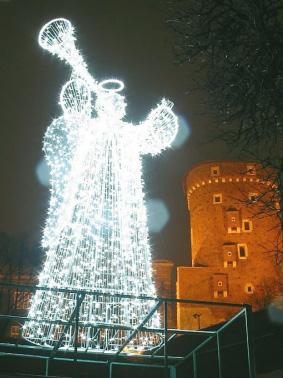 AMR CAMPANIA, dekoracje, Fontanny Świetlne, Anioły Świetlne, Dekoracje Świąteczne, Iluminacje