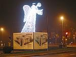 Anioły Świetlne, Fontanny Świetlne, Dekoracje Świąteczne, Iluminacje, AMR CAMPANIA