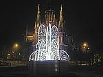 Fontanny Świetlne, Anioły Świetlne, Dekoracje Świąteczne, Iluminacje, AMR CAMPANIA